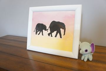 Picture of Mommy and Me Elephants