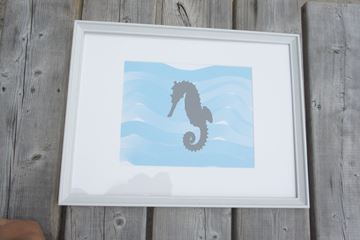 Picture of Under Water Sea Horse
